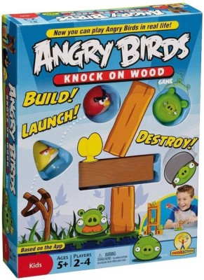 The Toy Bazaar Angry Birds Knock on Wood Board Game
