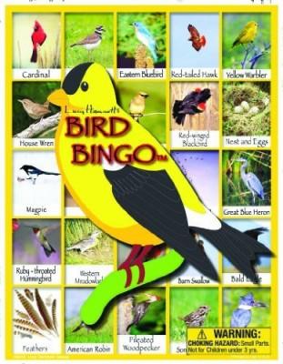 Lucy Hammett Games Bird Bingo Board Game