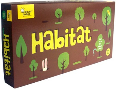 Clever Cubes Habitat Board Game