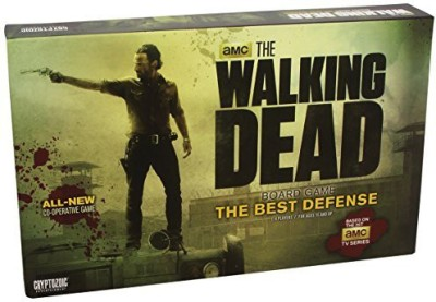 Cryptozoic Entertainment Walking Dead The Best Defense Board Game
