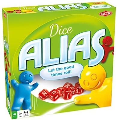 Tactic Games US Dice Alias (Us/Uk) Board Game