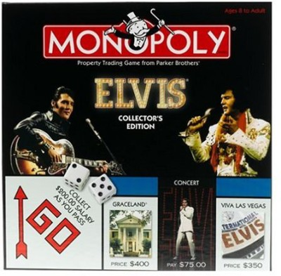 Monopoly Elvis Collector,S Edition Board Game