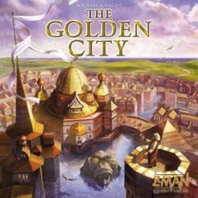 Z-Man Games Z Manthe Golden City Board Game