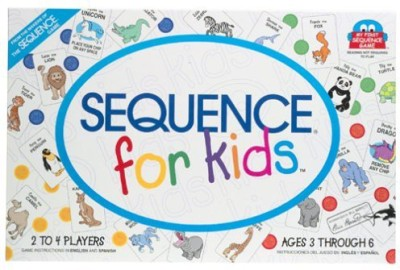 Jax Sequence For Kids Board Game