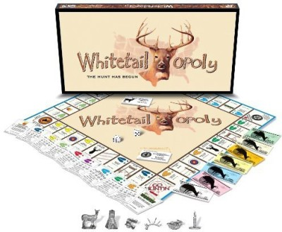 Late for the Sky White Tailopoly Board Game