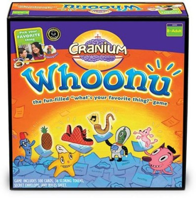 Cranium Whoonu Board Game