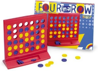 New Entertainment Four In A Row Board Game