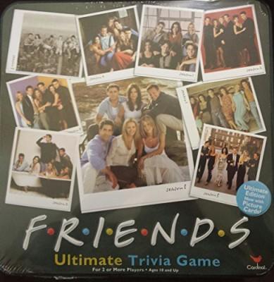 Cardinal Games Friends Ultimate Trivia In A Tin Board Game