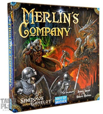 Days of Wonder Shadows Over Camelot Merlin,S Company Board Game