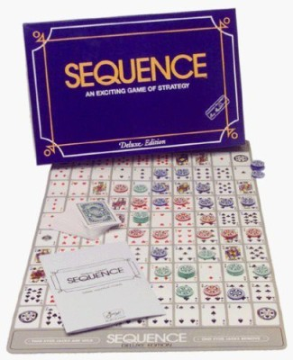 Jax Sequence Deluxe Sequence Tin Board Game