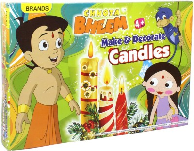 Brands Chhota Bheem Make & Decorate Candles Board Game