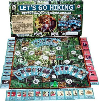 Family Pastimes Let,S Go Hiking A Cooperative Hiking & Tracking Board Game