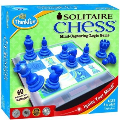 Think Fun Thinkfun Solitaire Chess Board Game