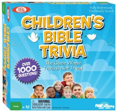 Ideal Children,S Bible Trivia Board Game