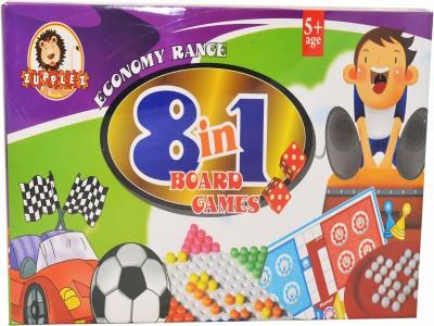 Zupplez 8 In 1 Games Board Game