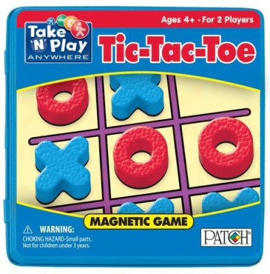 Patch Tictactoe Take ,N, Play Anywhere Board Game