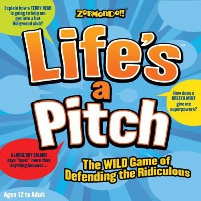 Zobmondo!! Life,S A Pitch Board Game