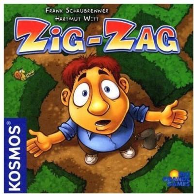 Rio Grande Games Zig Zag Board Game