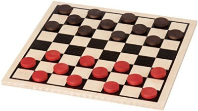 Maple Landmark Basic Checker Set Made In Usa Board Game