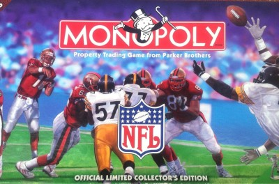 Monopoly NFL Board Game