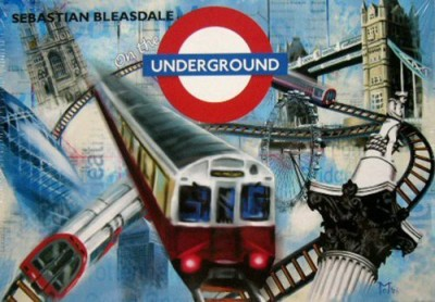 Rio Grande Games On The Underground Board Game