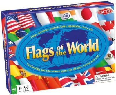 Tactic S Us Flags Of The World Board Game