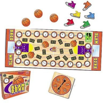 Teacher Created Resources Slam Dunk (Os 7820) Board Game