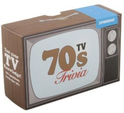 Spinning Hat 70,S Tv Trivia Board Game
