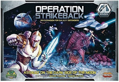 Ares Games Galaxy Defenders Operation Strikeback Board Game