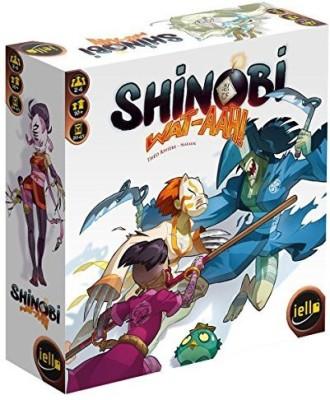 IELLO Shinobi Wataah Board Game