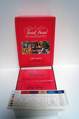 Parker Brothers Trivial Pursuit The 1960,S Card Set Board Game