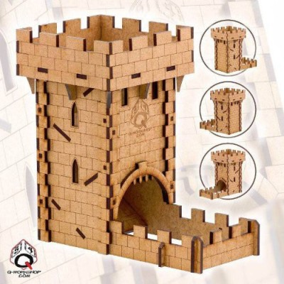 Q Workshop Dice Tower Board Game