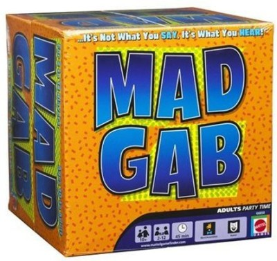 Mattel Mad Gab Board Game