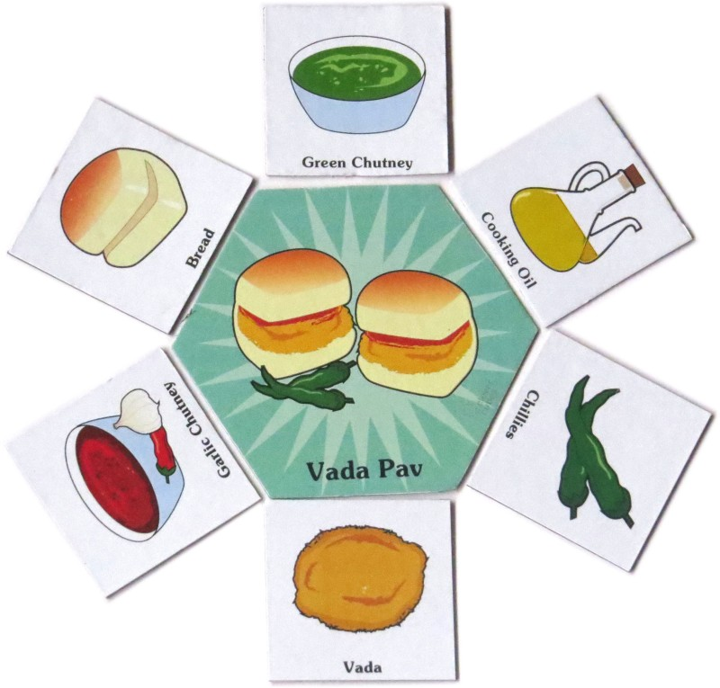 Clever Cubes Food Whiz Board Game
