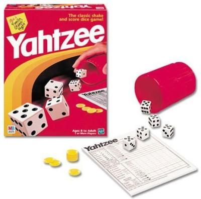 Milton Bradley Yahtzee Additional Score Cards Board Game