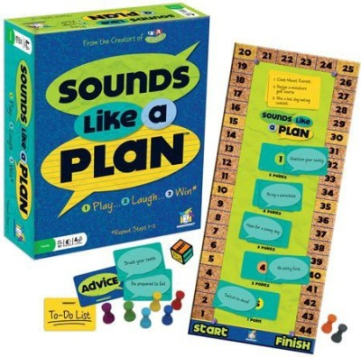 Gamewright Sounds Like A Plan Board Game