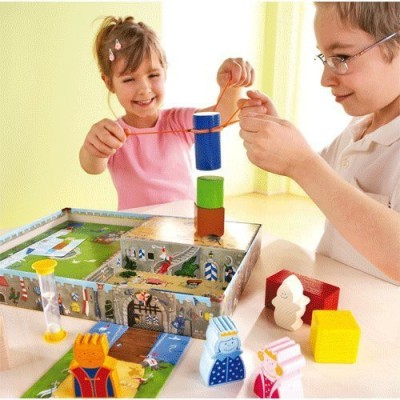 HABA Castle Knights Together We Are Strong Board Game