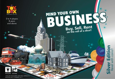 Toysbox Mind Your Own Business - Silver Edition Board Game
