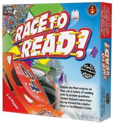 Edupress Lrn222 Race To Read Red Board Game