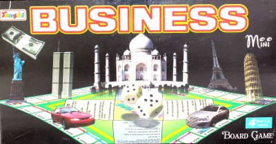 Tanshi Business Mini Board Game