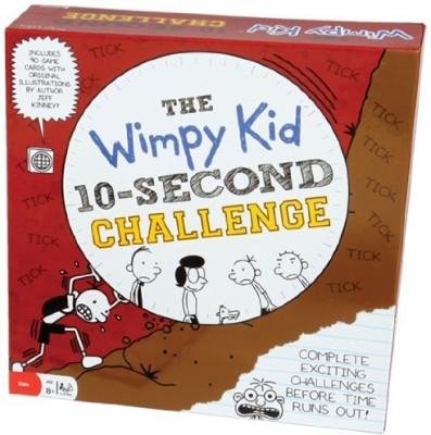 Pressman Toy Diary Of A Wimpy Kid 10 Second Challenge Board Game