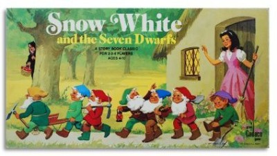 Wel-Bilt Snow White And The Seven Dwarfs A Cadaco Storybook Classic Board Game