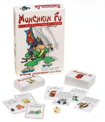 Vintage Sports Cards Inc Munchkin Fu Board Game