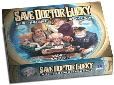 Paizo Publishing Save Doctor Lucky Board Game