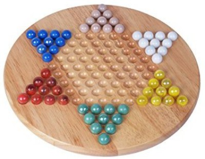 Classic Game Collection Chinese Checkers With Marbles Board Game