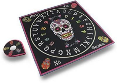 Zeckos Day Of The Dead Skull Mystical Talking Spirit Ouija Board Game