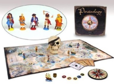 Sababa Toys Sababa Pirateology Deluxe Board Game