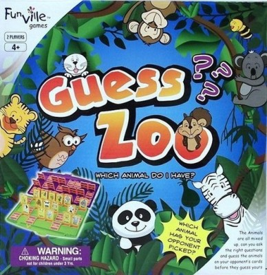 Frank Guess Zoo Board Game