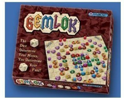 Pywacket Games Gemlok Board Game