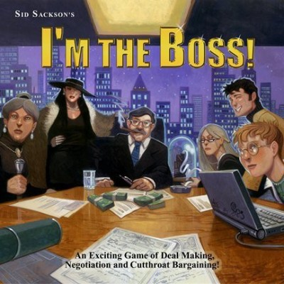 Face 2 Face Im The Boss Board Game